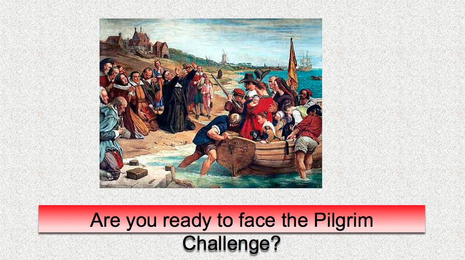 Mayflower Challenge Game